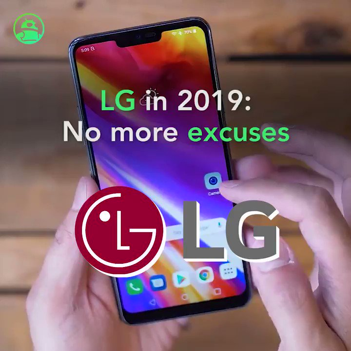 Image for the Tweet beginning: LG in 2019: No more