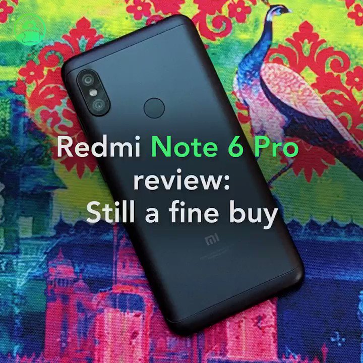 Image for the Tweet beginning: Redmi Note 6 Pro review: