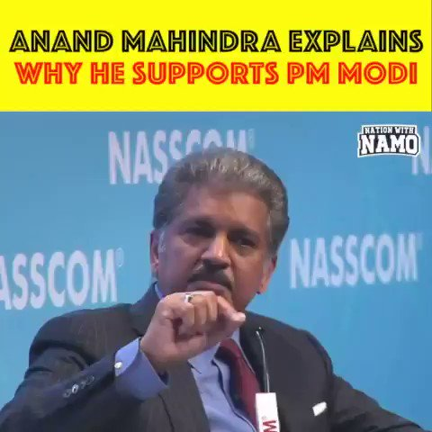"L&T Chief Naik said Modi a tough taskmaster with capability to get work done.  Ashok Leyland MD CEO said... ""he has never seen such speed and size of infrastructure spending in his whole career""  And this is Anand Mahindra speaking...."