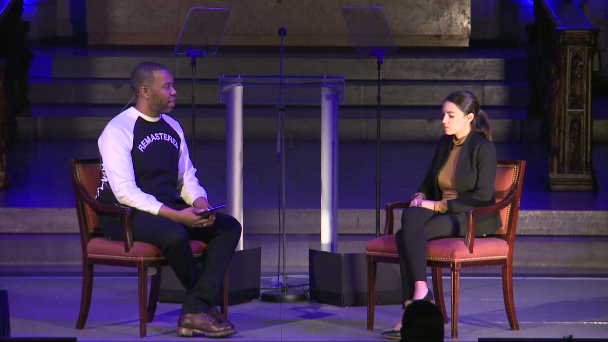 #MLKNow: Watch the full conversation between Congresswoman @AOC and Award Winning Author Ta-Nehisi Coates at our MLK Now event: http://bit.ly/2R7apse