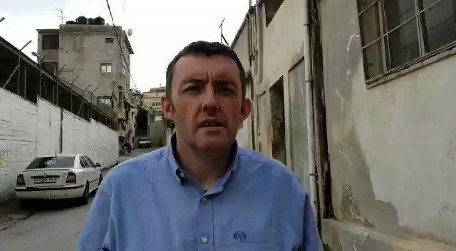 The Occupied Territories Bill will be introduced to the Dáil today by @NiallCollinsTD of @fiannafailparty; Director of Trócaire's International Division @seantrocaire recently visited Jenin Refugee Camp in the West Bank and highlighted the need for the Bill #SettlementGoods
