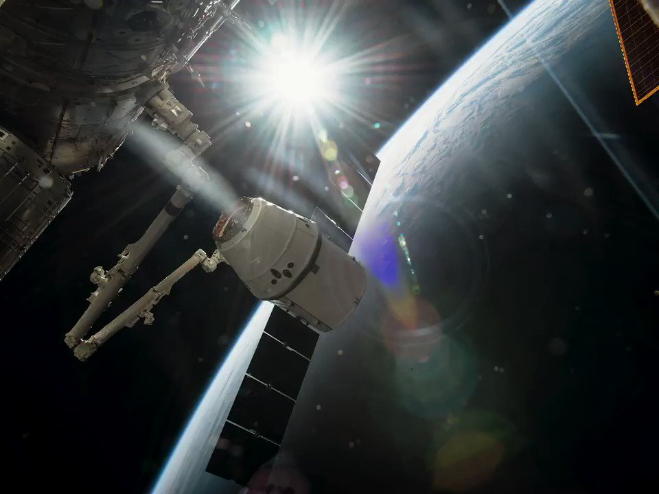 Dragon has delivered more than 140,000 lbs of cargo to and from the @space_station since 2012, but it was designed from the beginning to carry humans. These critical resupply missions also provide important flight heritage as we prepare to fly Crew Dragon.