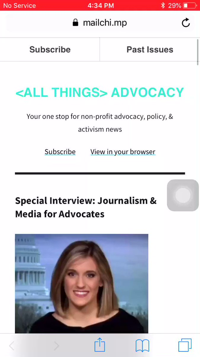 I was profiled for #allthingsadvocacy - out today! Here are tips to take your #digitaladvocacy to the next level. Thanks to @allison_alt & @saralang for making this happen! #politics #policy #nonprofit https://mailchi.mp/e23bd6809530/wed-edition-198283?e=3e0d366294…