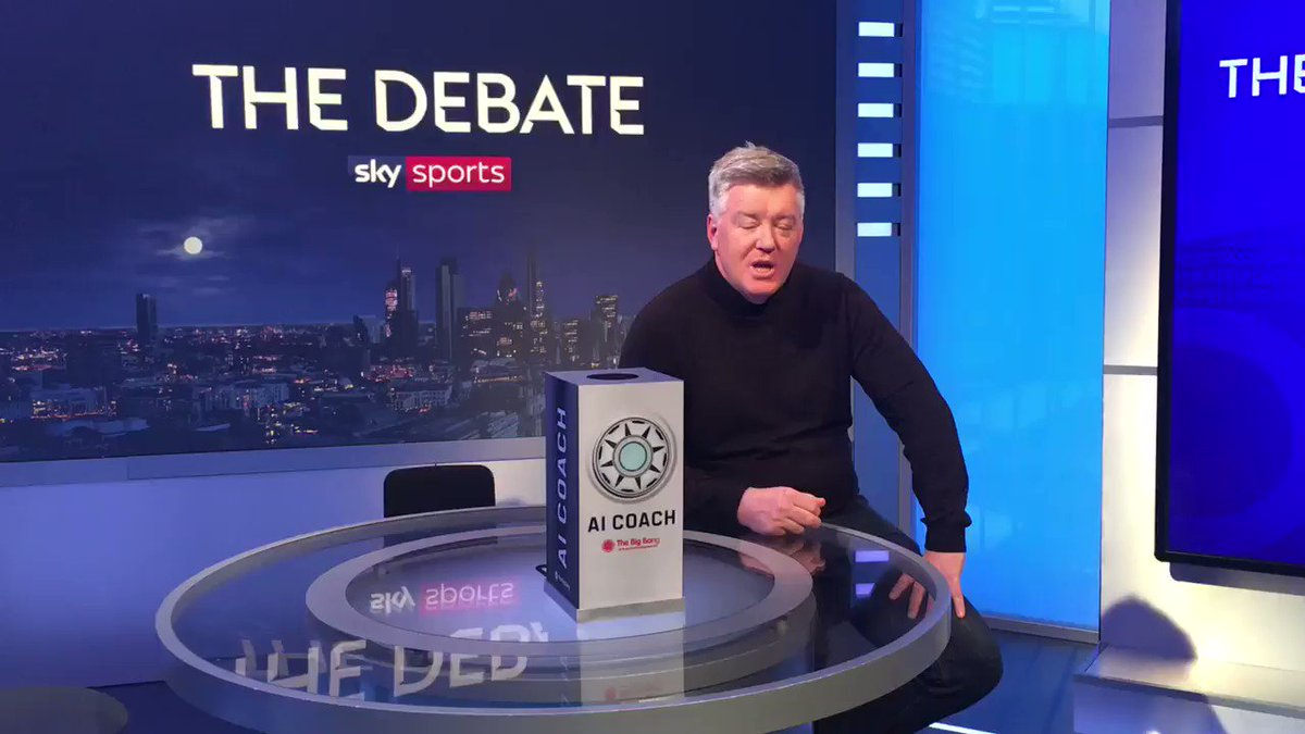 Tweet us @SkySportsPL with your questions using #TheDebate ⚽️  Arsene Wenger said there would be robots in football within 20 years, is it going to be a lot sooner? 🤔   Join @GeoffShreeves, @schwarzer_mark and Kevin Phillips on The Debate tonight at 10.15pm