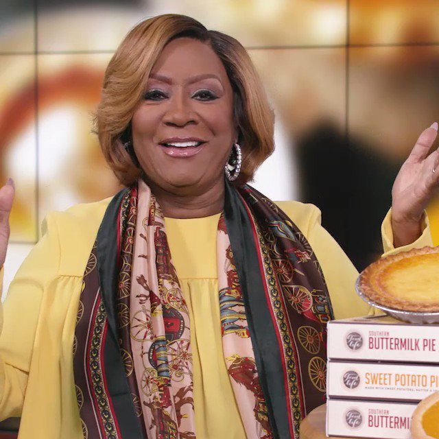 If you know us at all, you know that there is only one way to celebrate #NationalPieDay. We now present, the one, the only, @MsPattiPatti. You're welcome.