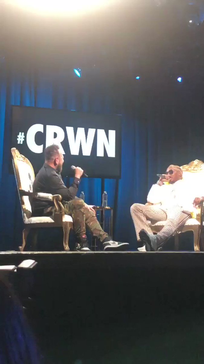 You can watch @1future's entire interview with @ElliottWilson on http://TIDAL.com/CRWN 🔮  #TIDALXCRWN