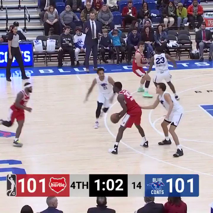 ✔️ Break a tie in the final minute ✔️ Posterize ✔️ Fake out the camera man  Kyle Casey's THUNDEROUS slam had it all... but was it the #GLeagueTopPlay of the Season??  @HarvardMBB ↗️ @MemphisHustle
