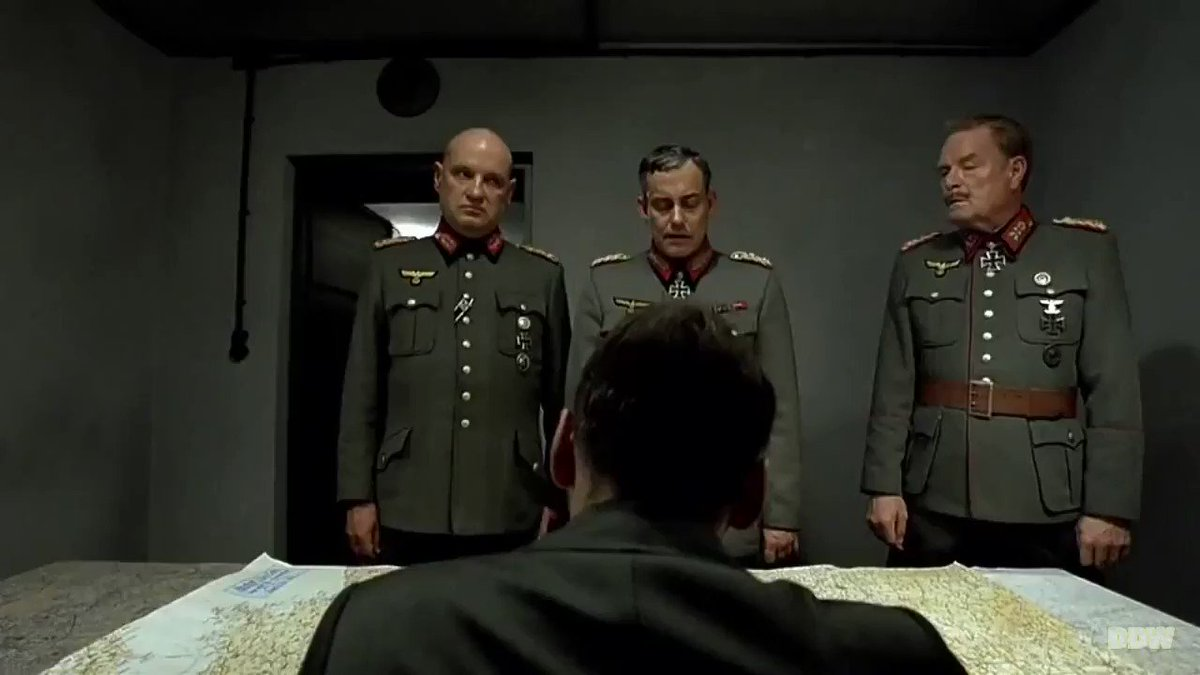 """Bruno Ganz — who played Hitler in the 2004 film """"Downfall"""" — has died at age 77.  His depiction of Hitler's final days in an underground bunker as the Third Reich collapsed around him spawned so many memes that maybe you never saw the original. You should."""