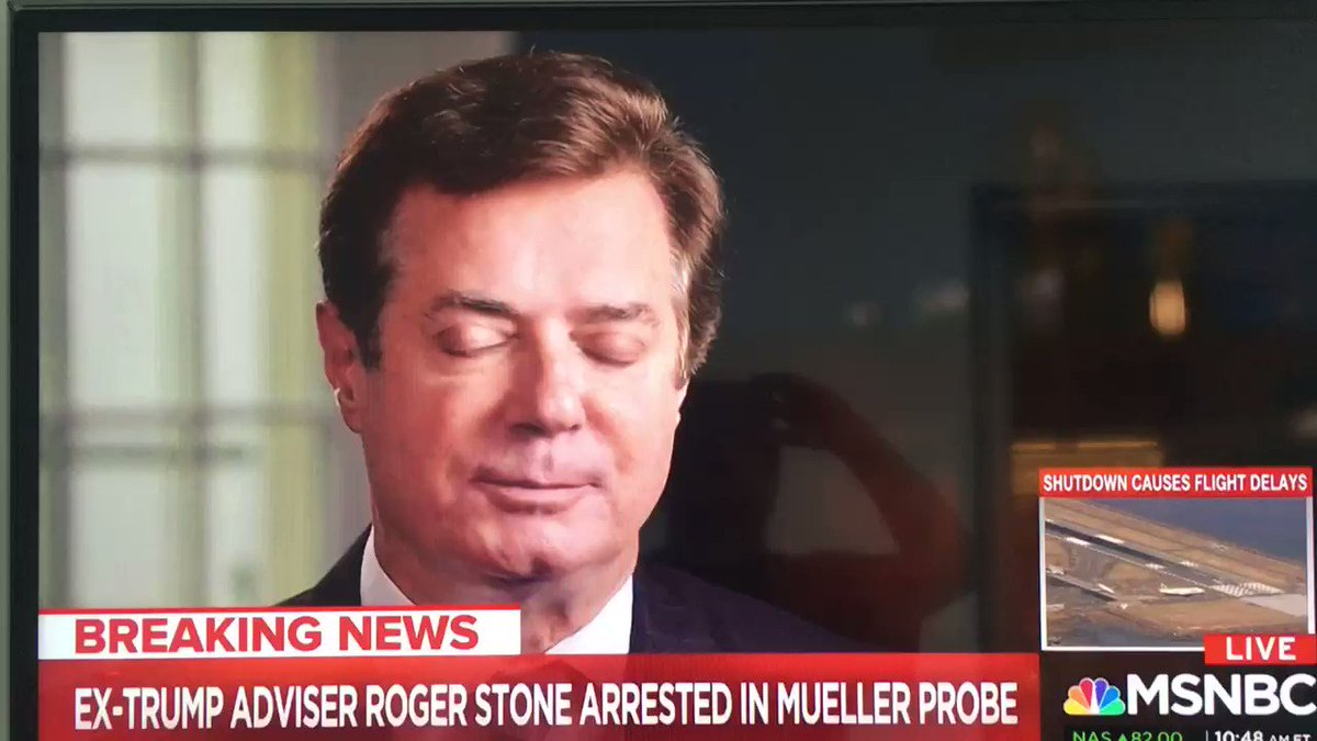 "In Paul Manafort's own words:  ""Roger's relationship with Trump has been so interconnected that it's hard to define what's Roger and what's Donald."""