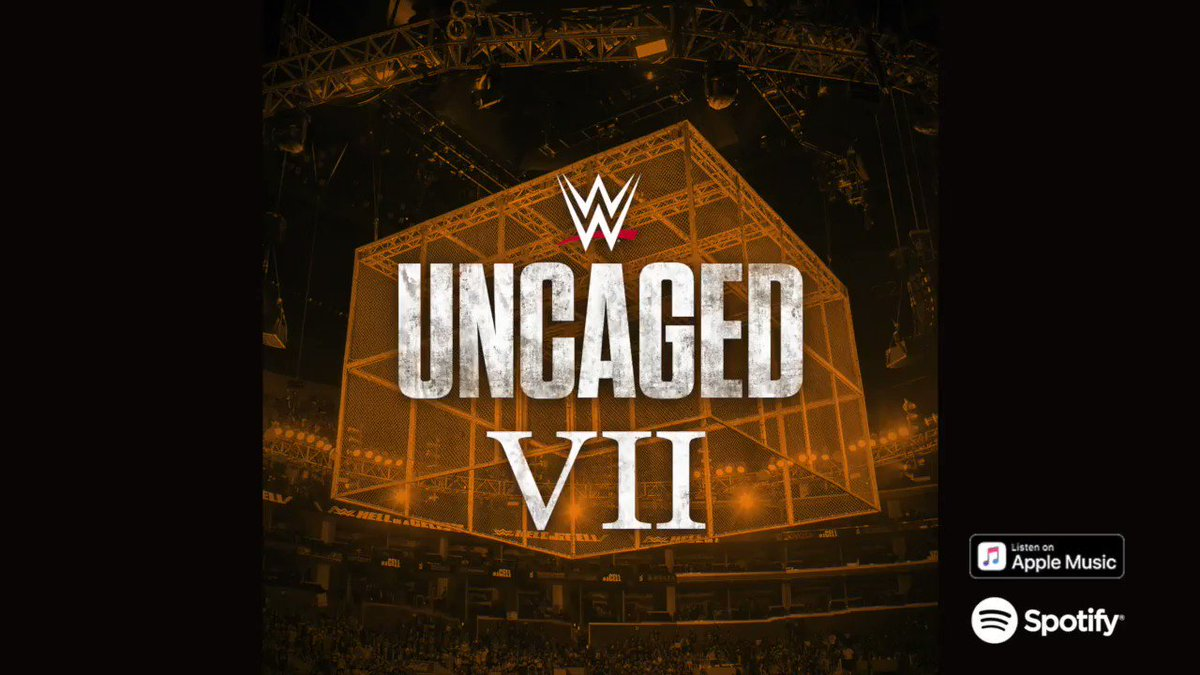 The cage rises for the #RoyalRumble. #UncagedVII is available now on @Spotify and @AppleMusic.