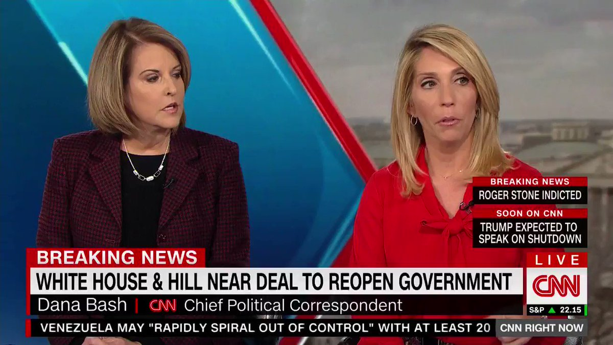 "CNN's Dana Bash: ""[Democrats are] getting pounded because the Trump message, the Republican message that they don't care about border security has started to seep in."""