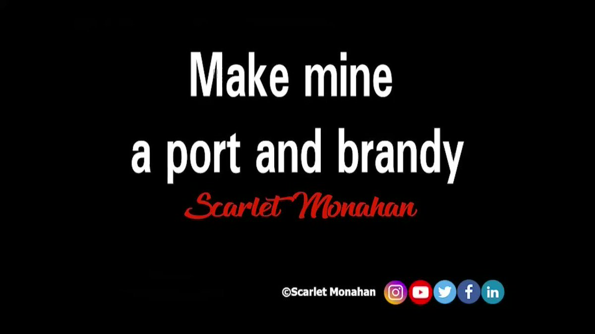 Make mine a port and brandy. #forgetful #poem #poetry #poet #video #viralvideo #artvideo #art #words #wordsmith #poetrypublisher #artist #writer #BookWorm #peace  34