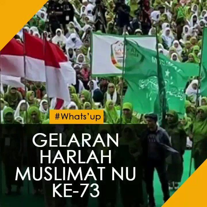 Harlah Muslimat NU terbuka untuk umum. Seperti apa, ya, kesiapan dan kemeriahannya? Berita selengkapnya   @PPMuslimatNU @Muslimat_NU @ppippnu @PagarNusa_NU @KhofifahIP @yennywahid #HarlahMuslimatNU73