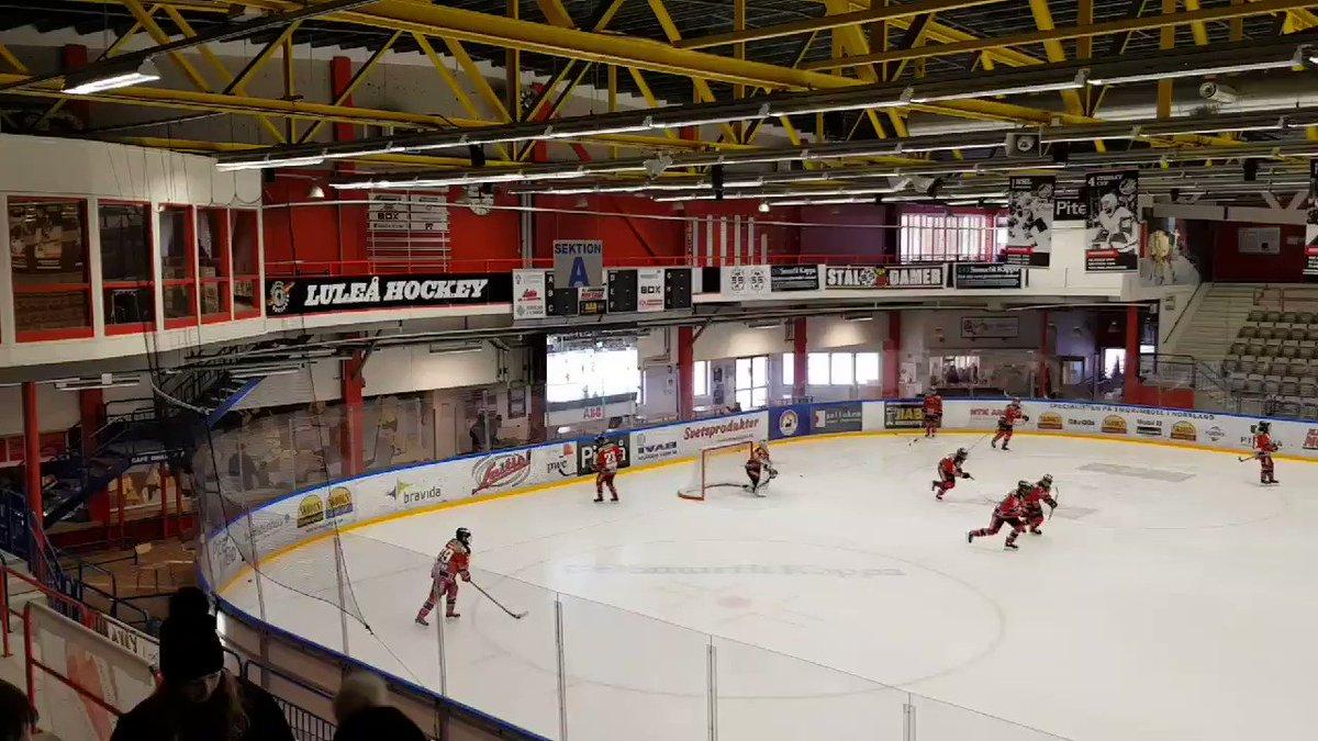 Har LF Arena någonsin varit vackrare  Tack för besöket  LuleaHockey  MSSK!   76bbb7cc348e4