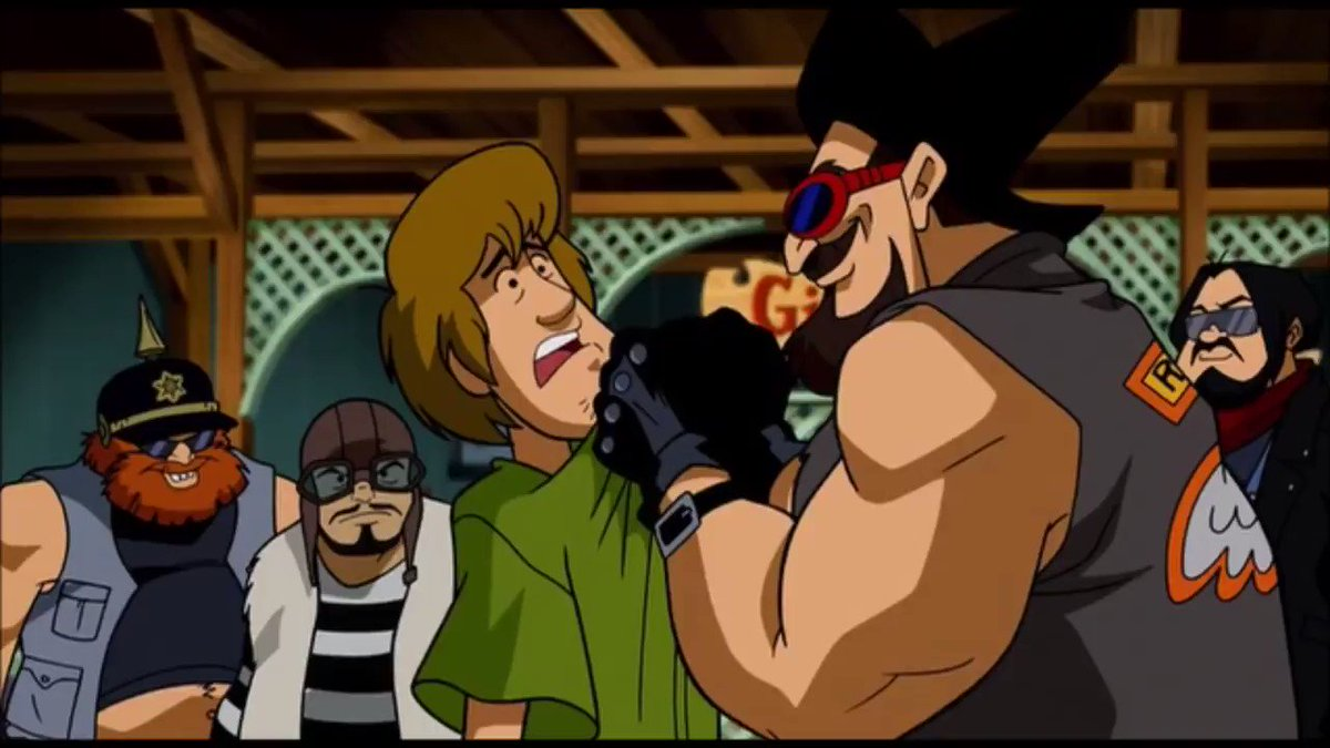 Remember that one time Shaggy actually unleashed a portion of his power