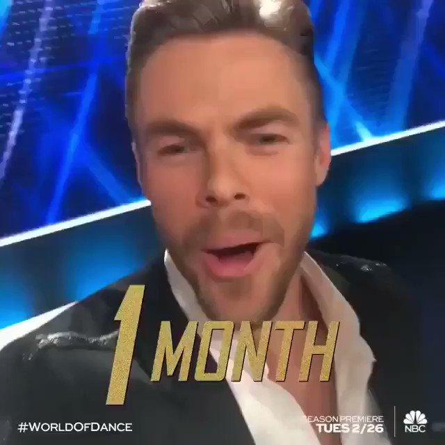 Only ONE month away until Season 3. Let the countdown begin! ✨@NBCWorldofDance https://t.co/t3Xlkbauqj
