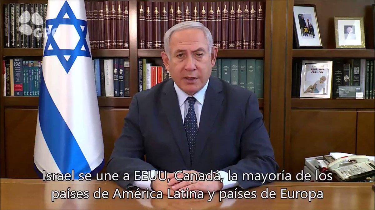 #Israel se une a EEUU, Canadá, la mayoría de los países de América Latina y países de Europa en reconocer el nuevo liderazgo en #Venezuela