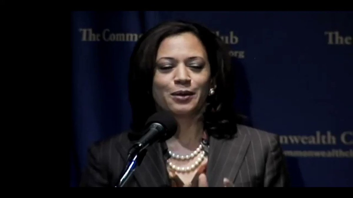 Kamala Harris at an event hosted by the Commonwealth Club in 2010, explaining her decision as San Francisco DA to get tough on truancy.   Critics of truancy crackdowns say such efforts unfairly target poor parents and children without actually helping students.