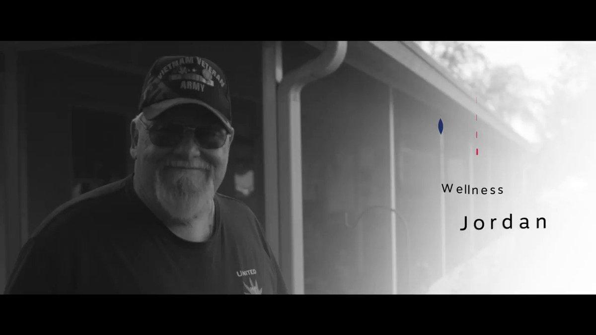 Image for the Tweet beginning: #Cannabis helps Vietnam veteran Bob