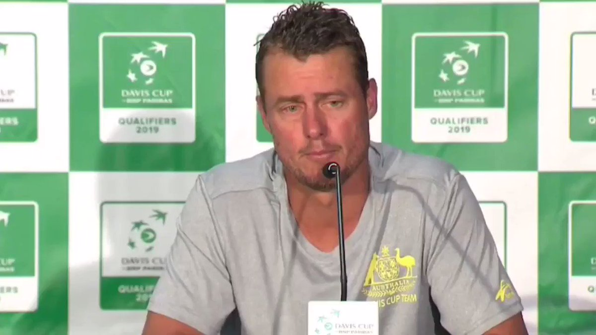 """Lleyton Hewitt: """"We're getting run by a Spanish football player. That's like me coming out and making changes to the Champions League. It's ridiculous. He knows nothing about tennis."""""""