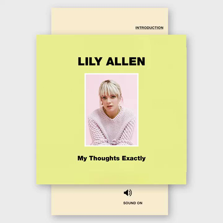 For #NationalStorytellingWeek, why not listen to one of our own favourite storytellers, with an audiobook:   My Thoughts Exactly read by the author, @lilyallen   Preview here: https://soundcloud.com/bonnierbooksuk/my-thoughts-exactly-lily-allen…    Download via @audibleuk here: https://www.audible.co.uk/pd/My-Thoughts-Exactly-Audiobook/B07FW13482…