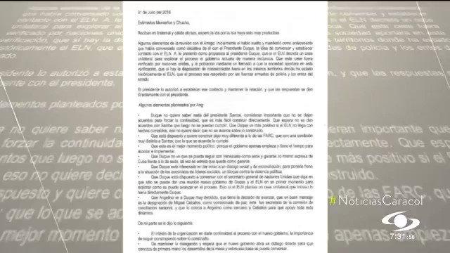 Que hubo carticas de amor entre los cabecillas del ELN y el electo @IvanDuque, donde hacían pactos secretos. Y el mensajero fue el fariano Angelino, cuya hija fue postulada por Uribe para ser candidata a la Alcaldía de Bogotá. ¡Qué mafia! Y la secta sigue calladita