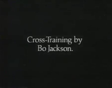 """""""Bo, you don't know Diddley!"""" ~ Classic 1989 """"Bo Knows"""" Nike Cross-Training by Bo Jackson Commercial. #TBT #MLB #NFL #BoKnows"""