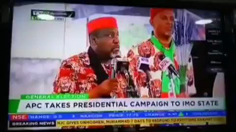 RT @nkfulatan: Can't stop...😂😂😂 All is not well in APC This is the video from #APCRallyImo: https://t.co/pzM3UwdZTz