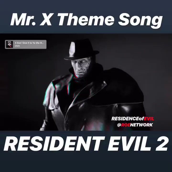 I get chills every time this theme starts to play 😱😱😱💩 Enable Sound 🔈 #RE2 #MrX #ResidentEvil2