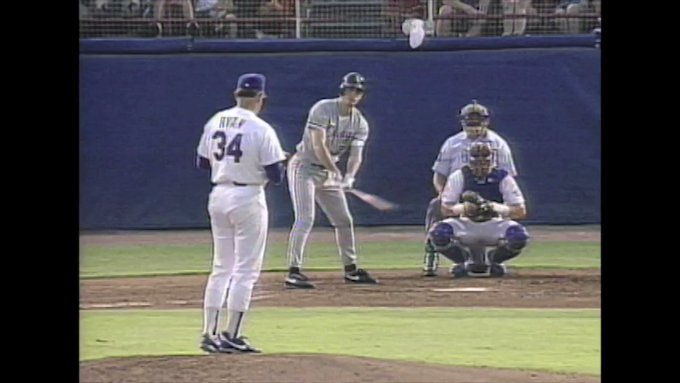 Happy Birthday to an absolute LEGEND. One of my favorite baseball moments ever.  Here\s to you, Mr. Nolan Ryan.