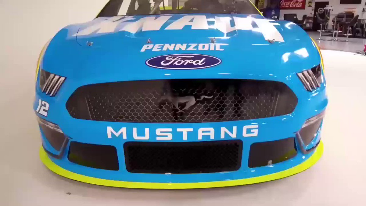 Here it is! I couldn't be more excited for the new season and the new look for my @Menards @FordPerformance #FordMustang in 2019. Enjoy!  #NASCAR