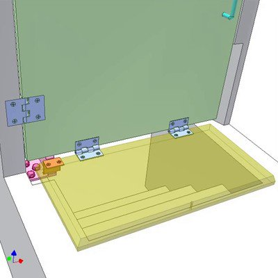 Door and Stairs Cover