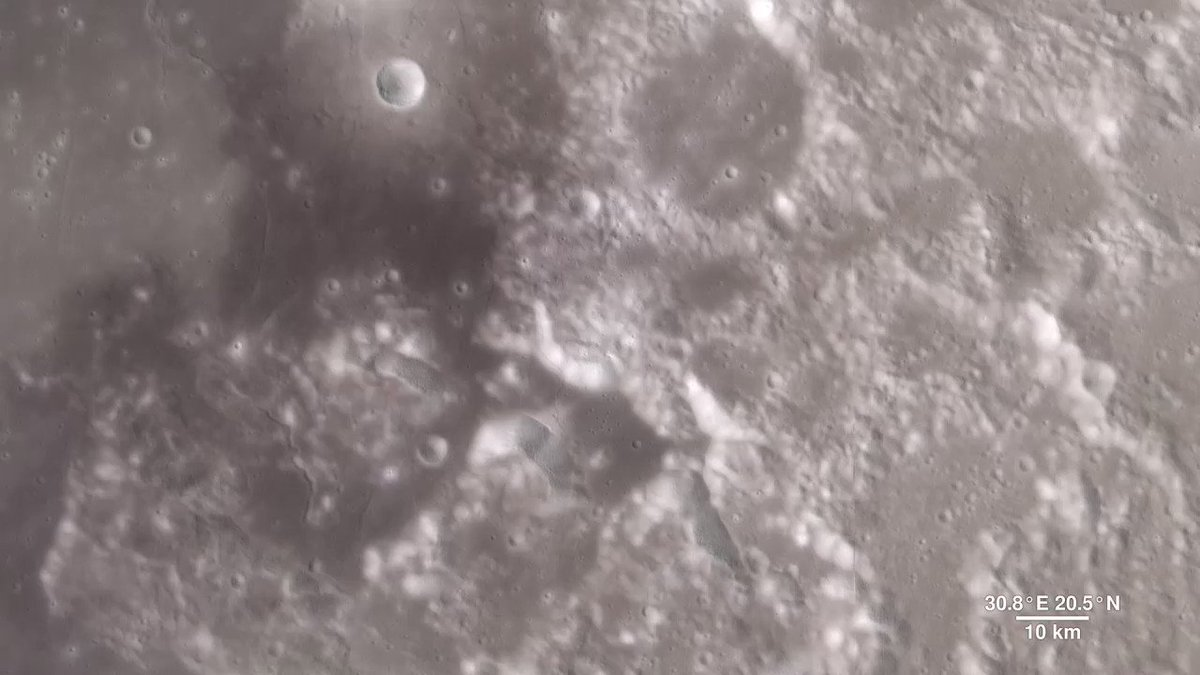 As we shiver here in North America, we can at least be grateful that we're not having a lunar #polarvortex. The darkest craters at the Moon's poles never receive sunlight and have temperatures as low as -410° F/-250°. https://go.nasa.gov/2Rwjb38
