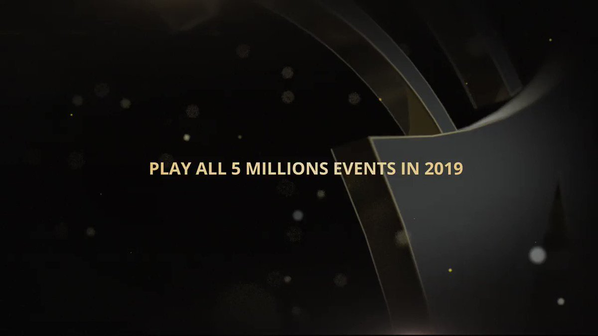COMPETITION: We're giving away a deck of partypoker cards and a CPP powerbank to one lucky follower. Just like/share/follow and answer this question. What will you win if you play all 5 MILLIONS stops this year? Answer in the video. https://bit.ly/2GYFHln