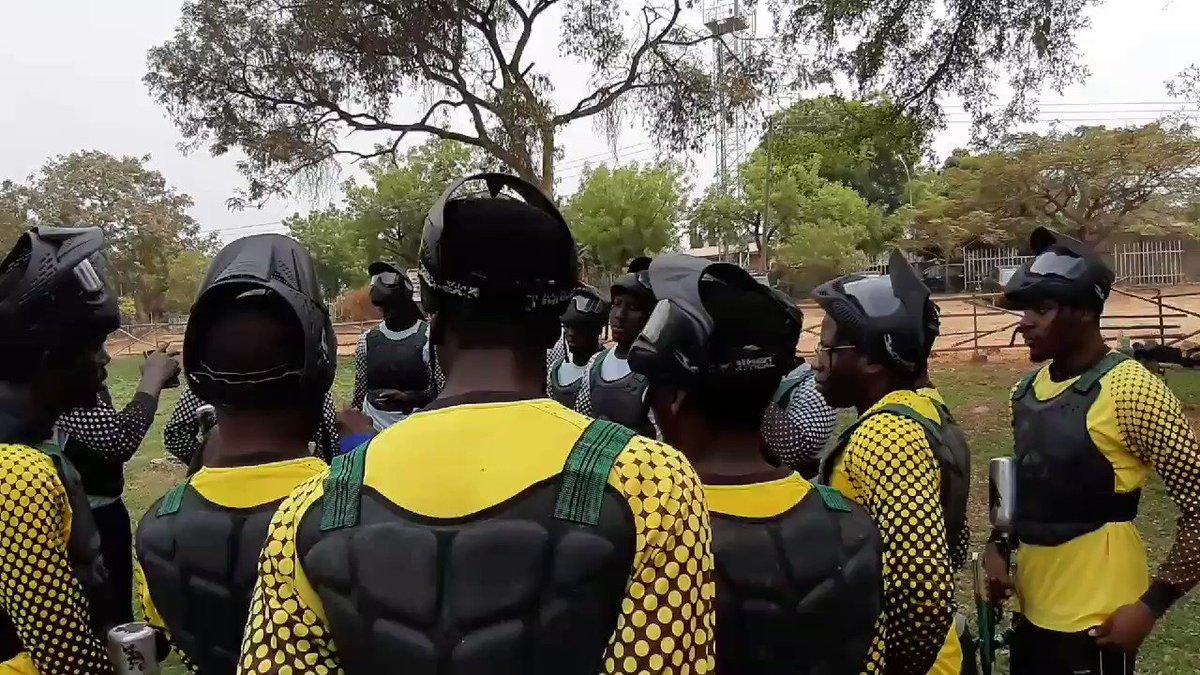 Ref doing his thing #WeAreRapid #paintball #Abuja #Fun #action #battlegames #runhideshoot #adventure #extremesport #Weekend #squad #noretreatnosurrender #adrenalin #team #AbujaTwitterCommunity