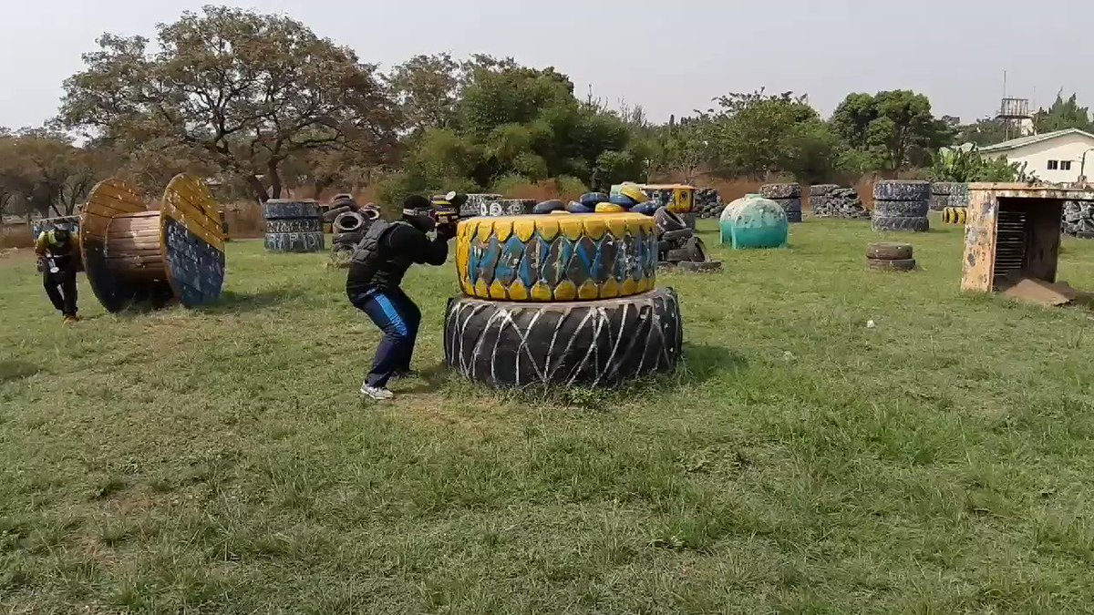 Live action #WeAreRapid #paintball #Abuja #Fun #action #battlegames #runhideshoot #adventure #extremesport #Weekend #squad #noretreatnosurrender #adrenalin #team #AbujaTwitterCommunity