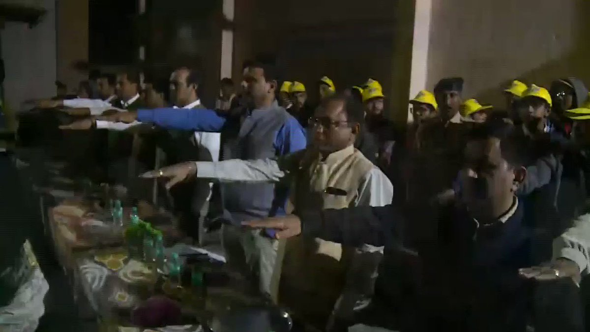#WoW is Educating (#SVEEP, Voter awareness), Empowering (Reaching out to unreached), Employing (NREGA, DDUGKY) and Ensuring benefits at doorstep.  Video shows glimpse. #Ratri_Rokan  #ProactiveAdministration @CollectorRjt  @RajkotDdo  @pkumarias  @CMOGuj  @CMO_Gujarat