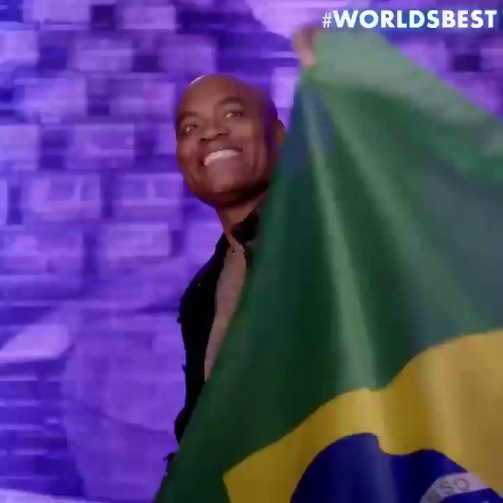 Looking forward to representing Brazil in the series premiere of @WorldsBestCBS tomorrow after the #SuperBowl. #WalloftheWorld