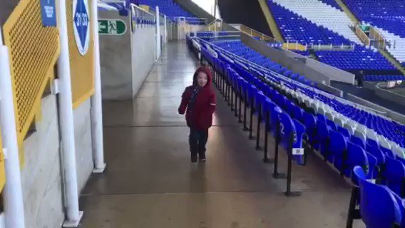 💙 This time last year, Ben was diagnosed with a rare bone cancer and given just a few months to live.  Remarkably, he keeps fighting and is still with us.  In recognition of #WorldCancerDay, we invited the young Bluenose back to St. Andrew's for a day of hospitality. 🙌  #BCFC