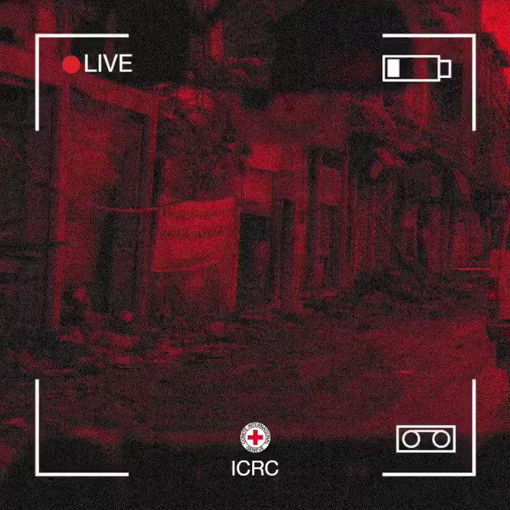 تابعوا اليوم في تمام الساعه ٤:٠٠ عصرا البث المباشر للمؤتمر الصحفي لرئيس اللجنة الدولية للصليب الأحمر