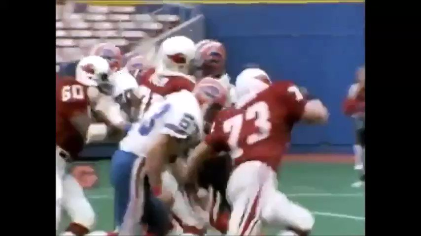 Happy birthday to former #BigRed DT Mark Duda who played on a talented STL defensive line in the mid-80s. Duda currently coaches at Lackawanna Junior College and is the leader among active coaches with 159 wins and has helped develop several NFL players.