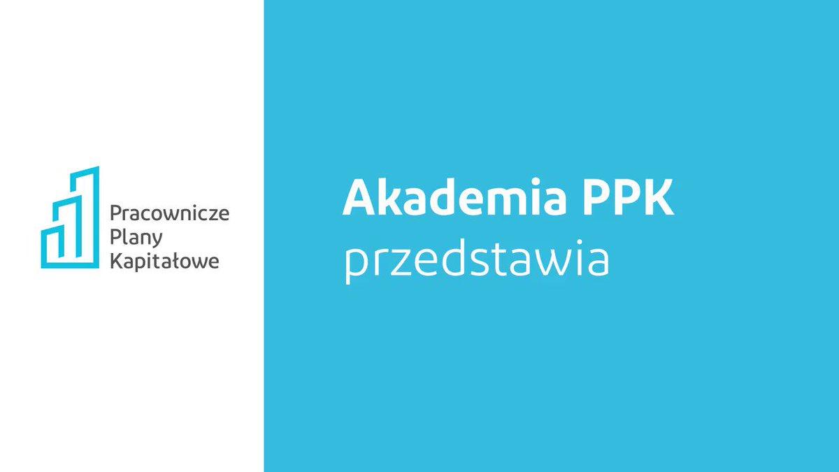 Poznaj Pracownicze Plany Kapitałowe z #AkademiaPPK.  W 1. odcinku dowiesz się: ➡ Na czym polega #PPK?  ➡ Kto będzie dokonywał wpłat?  ➡ O jakich terminach należy pamiętać? Zapraszamy! @Grupa_PFR