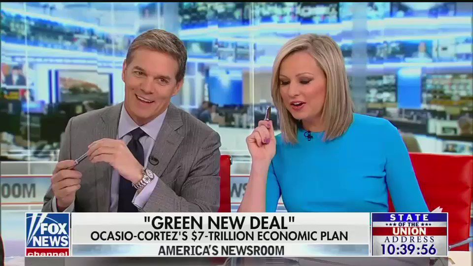 "Fox, apoplectic over its own polling showing wide public support for @AOC and @ewarren's wealth tax proposals, literally blames the fact that schools teach kids to be fair:   ""The idea of fairness has been promoted in our schools for a long time."""