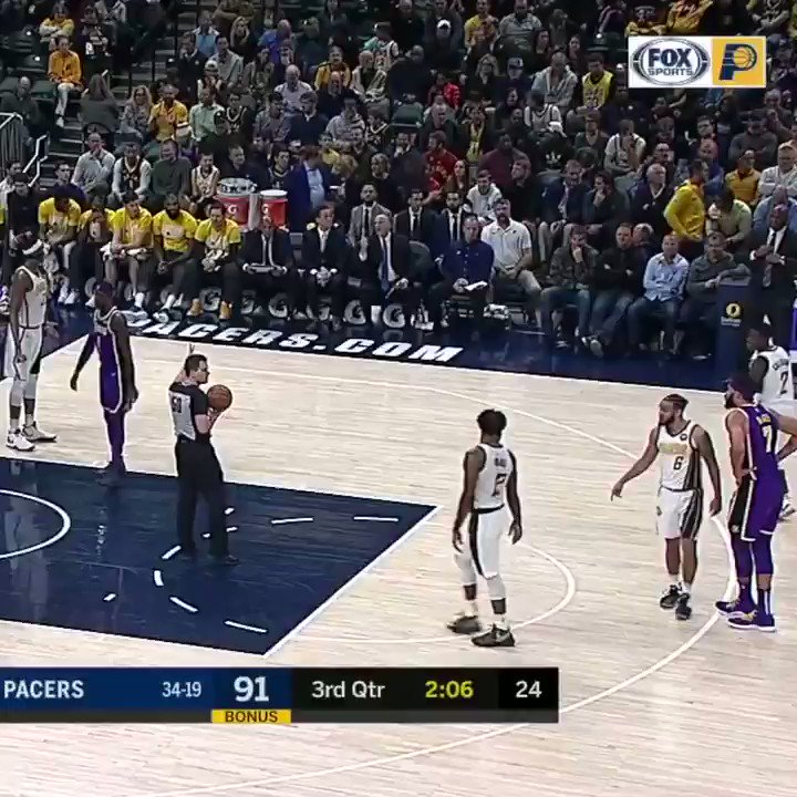 Pacers fans yelled 'LeBron's gonna trade you' at Brandon Ingram.  They switched it up for JaVale McGee �� https://t.co/V921E10ksS