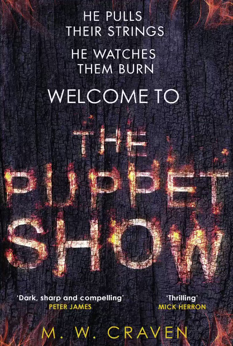 Image for the Tweet beginning: COVER REVEAL! After #ThePuppetShow🔥, a