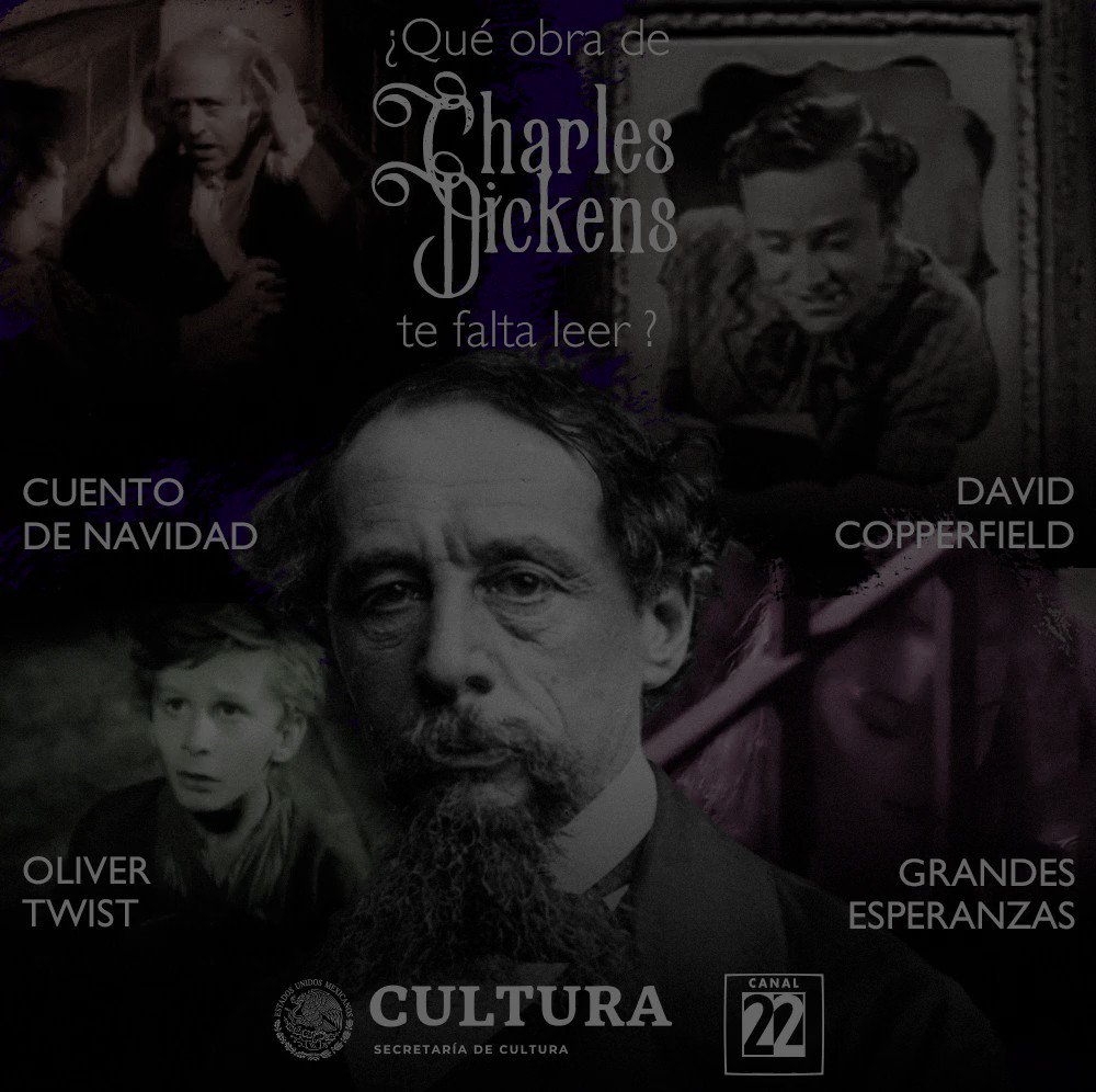 Canal 22 México's photo on #Dickens