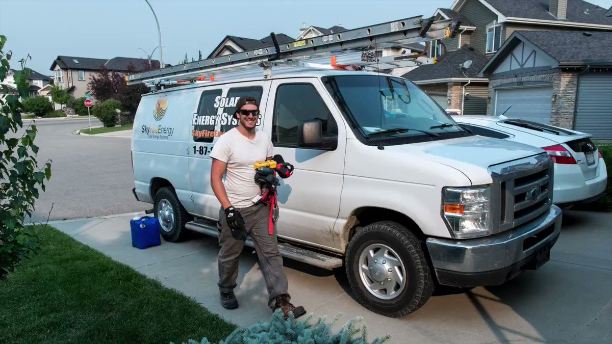 Faces of Renewable Energy: Bryce Hayes joined our Calgary team as a residential Solar Installer in 2017 and has since grown into his current role as a SkyFire Solar Specialist. Learn more about his journey with us -> https://www.skyfireenergy.com/faces-of-renewable-energy-series-bryce-hayes-mark-oness/… #solarjobs #ableg @efficiencyAB