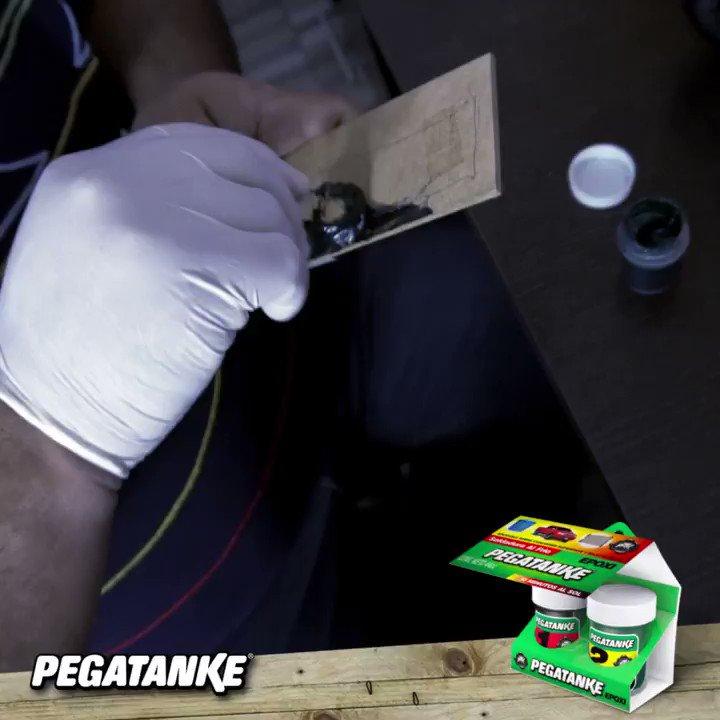con PEGATANKE® es muy fácil #reparaloylisto
