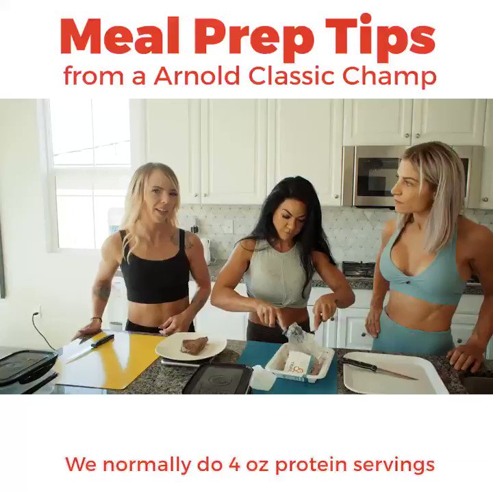 Meal prepping for #weightloss is essential. Learn from the pros how to structure your #mealprep and get the best #dietresults.   Meal prep tips: https://youtu.be/8gpwDpyvR7U
