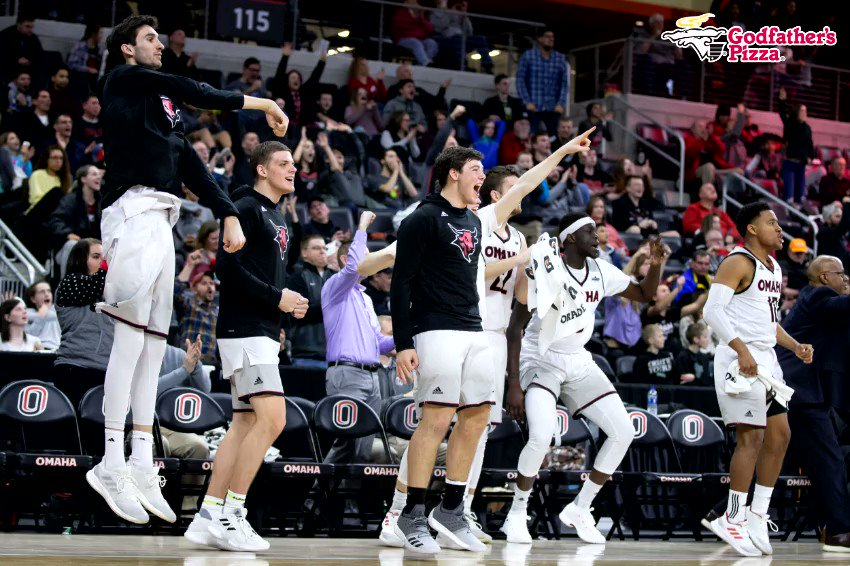 SURVIVED IN SIOUX FALLS‼️  Omaha defeats South Dakota 107-102 in OT and sweeps the season series!